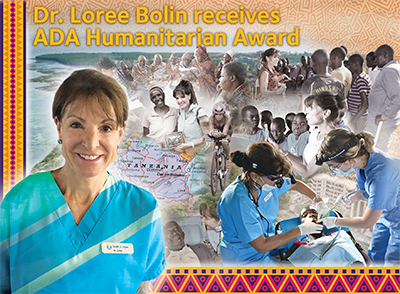 Dr. Loree Bolin ADA Humanitarian Award