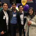 dentists at the WSDA mentor reception